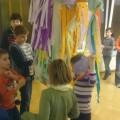 Die Piñata hängt...